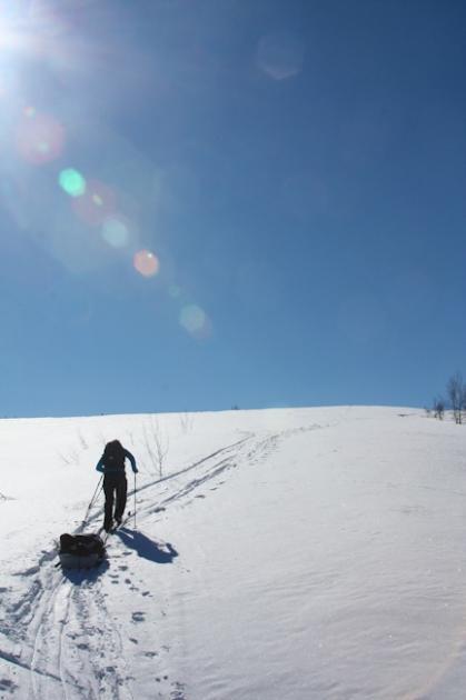 Hiihtoretkella-Norjassa