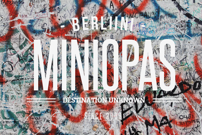 Berliini Miniopas I @SatuVW I Destination Unknown
