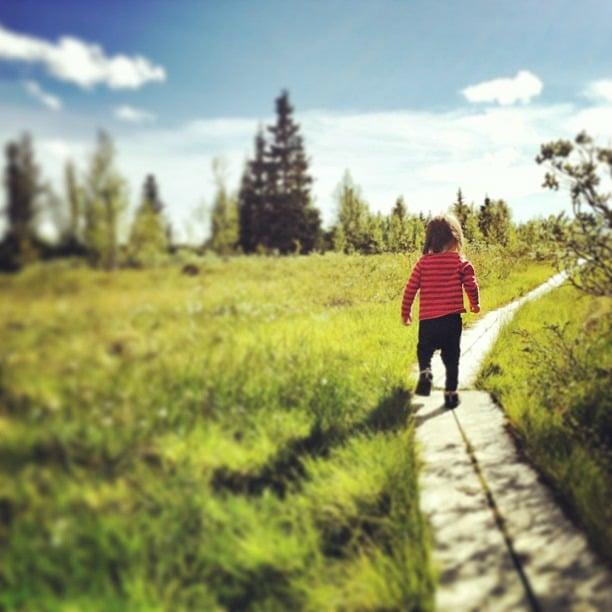 IGTravelThursday Haikkausta Norjassa I @SatuVW I Destination Unknown