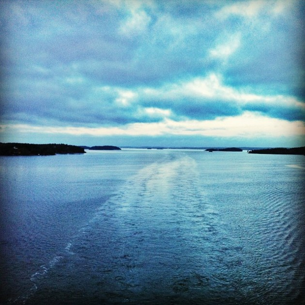 Cruising on Tallink Silja Symphony via Instgram I @SatuVW I Destination Unknown