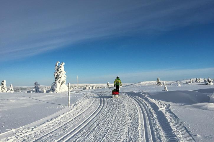 Hiihtolenkillä Norjassa I @SatuVW I Destination Unknown