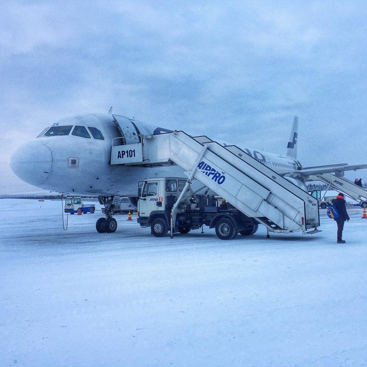 Finnair ja Kittilän lentokenttä I @SatuVW I Destination Unknown