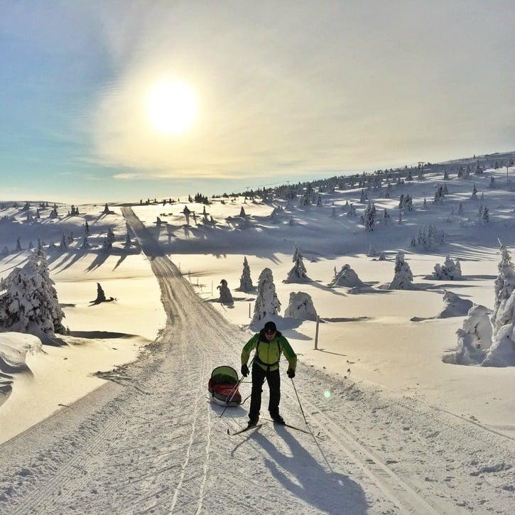 Maastohiihtoa Hafjellissa, Norjassa I @SatuVW I Destination Unknown