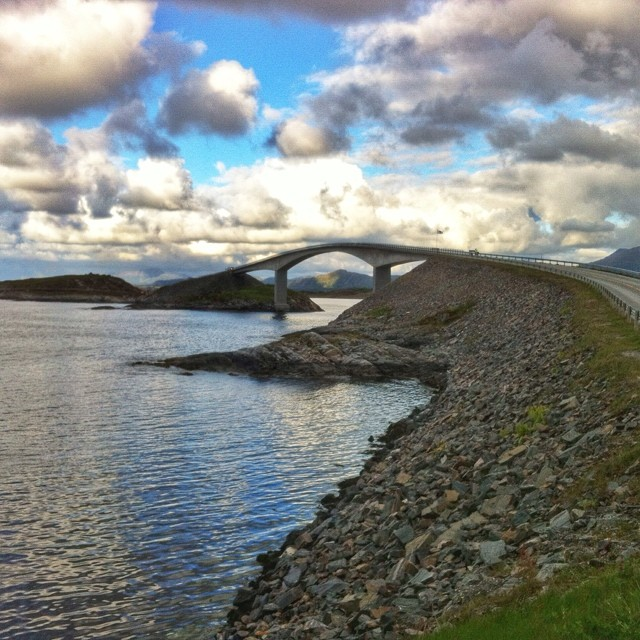 Atlantic Road Norja I @SatuVW I Destination Unknown