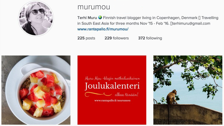 Murumou I Instagram Travel Thursday