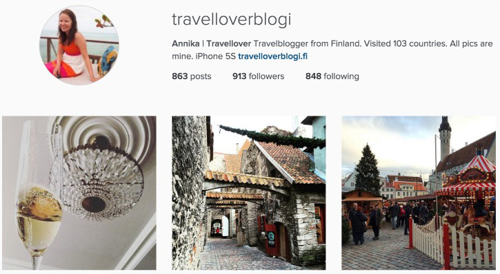 Travellover I Instagram Travel Thursday