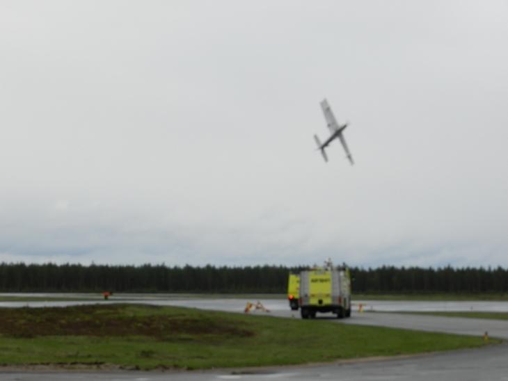 Radioohjattavien lennätys on haastavaa. Photo copyright Elämää ja Matkoja