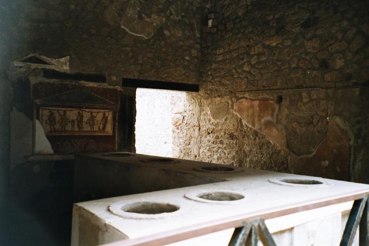 Pikaruokala Pompein tyyliin. Photo copyright Elämää ja Matkoja