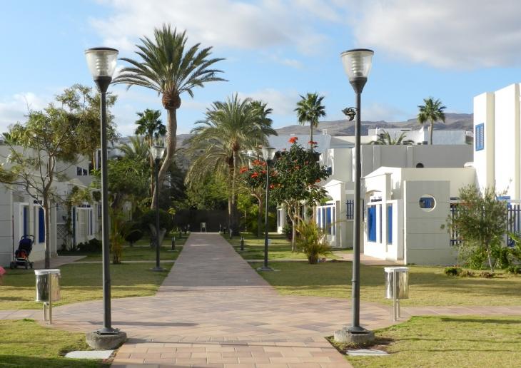 Playa Felizin alue on rauhallinen. Photo copyright Elämää ja Matkoja