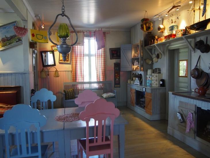 Pepin keittiössä. Photo copyright Elämää ja Matkoja