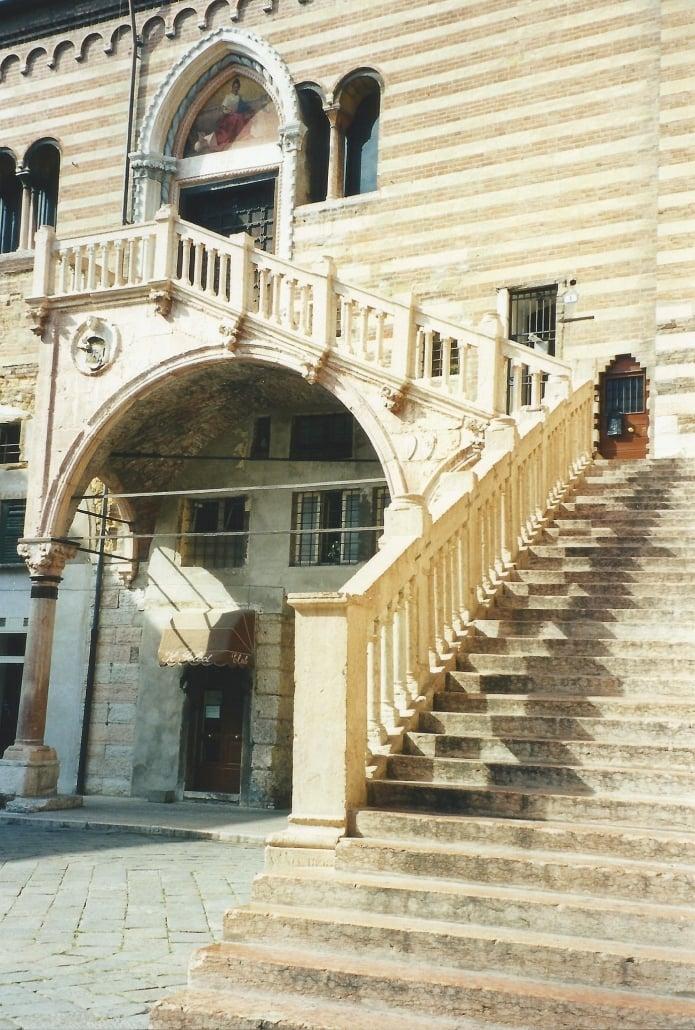 Palazzo della Ragione. Photo copyright Elämää ja Matkoja