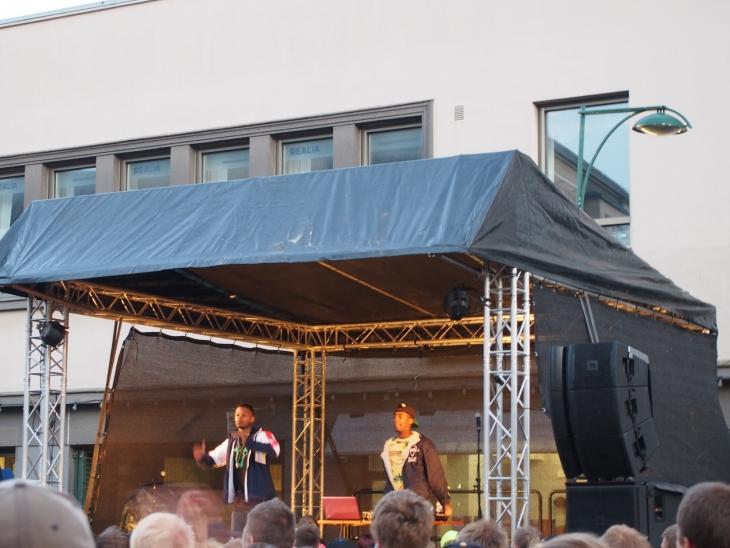 Musta Barbaari ja Prinssi Jusuf ottivat yleisön haltuun! Photo copyright Elämää ja Matkoja