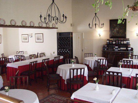 Hotellin Casa de Jantar ravintolan ruoka oli herkullista! Photo Quinta da Penha de Franca