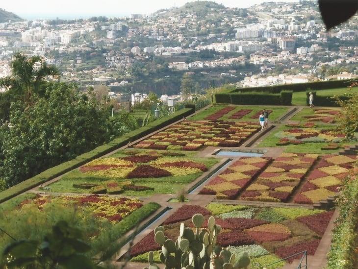 Jardim Botânico da Madeira. Photo copyright Elämää ja Matkoja