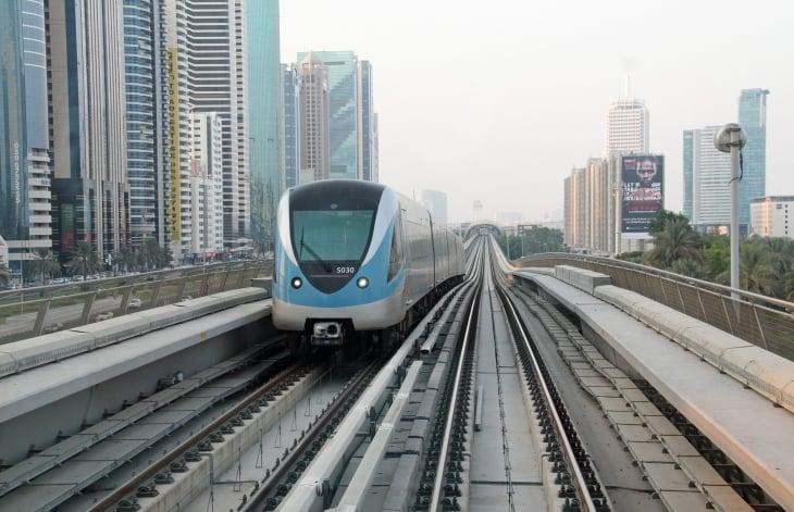 Dubain metro on maailman pisin täysautomatisoitu metro.