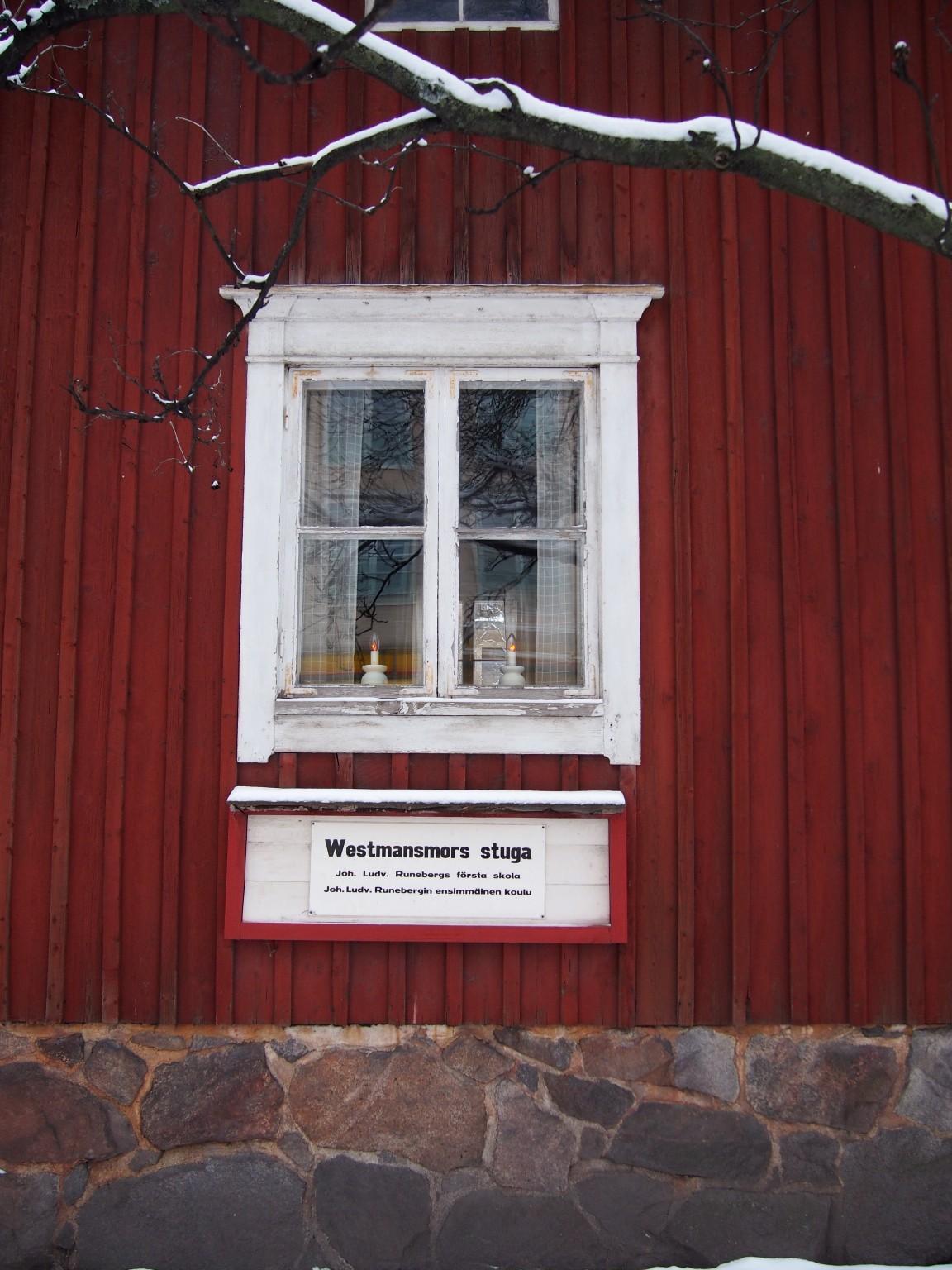 J.L. Runeberg aloitti koulutaipaleensa Westmanin muorin opissa vuonna 1810. Photo © Elämää ja Matkoja