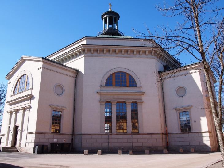 Skeppsholmenin kirkossa pidetään nykyään konsertteja. Photo © Elämää ja Matkoja