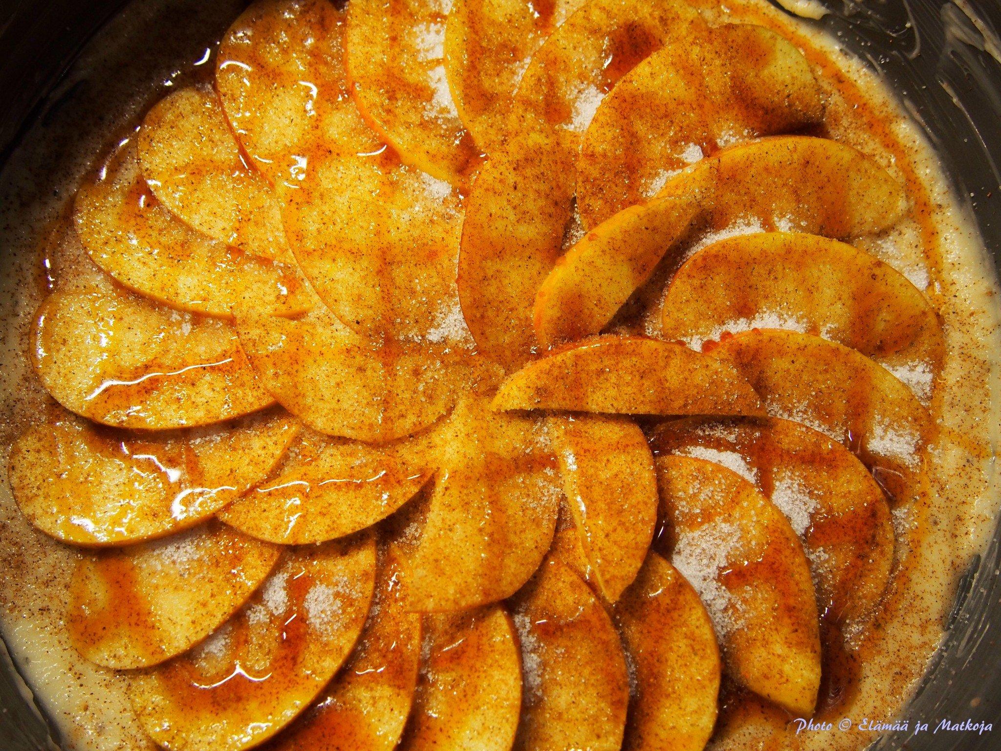 Mamman maistuva omenapiirakka 3 Elämää ja matkoja matkablogi