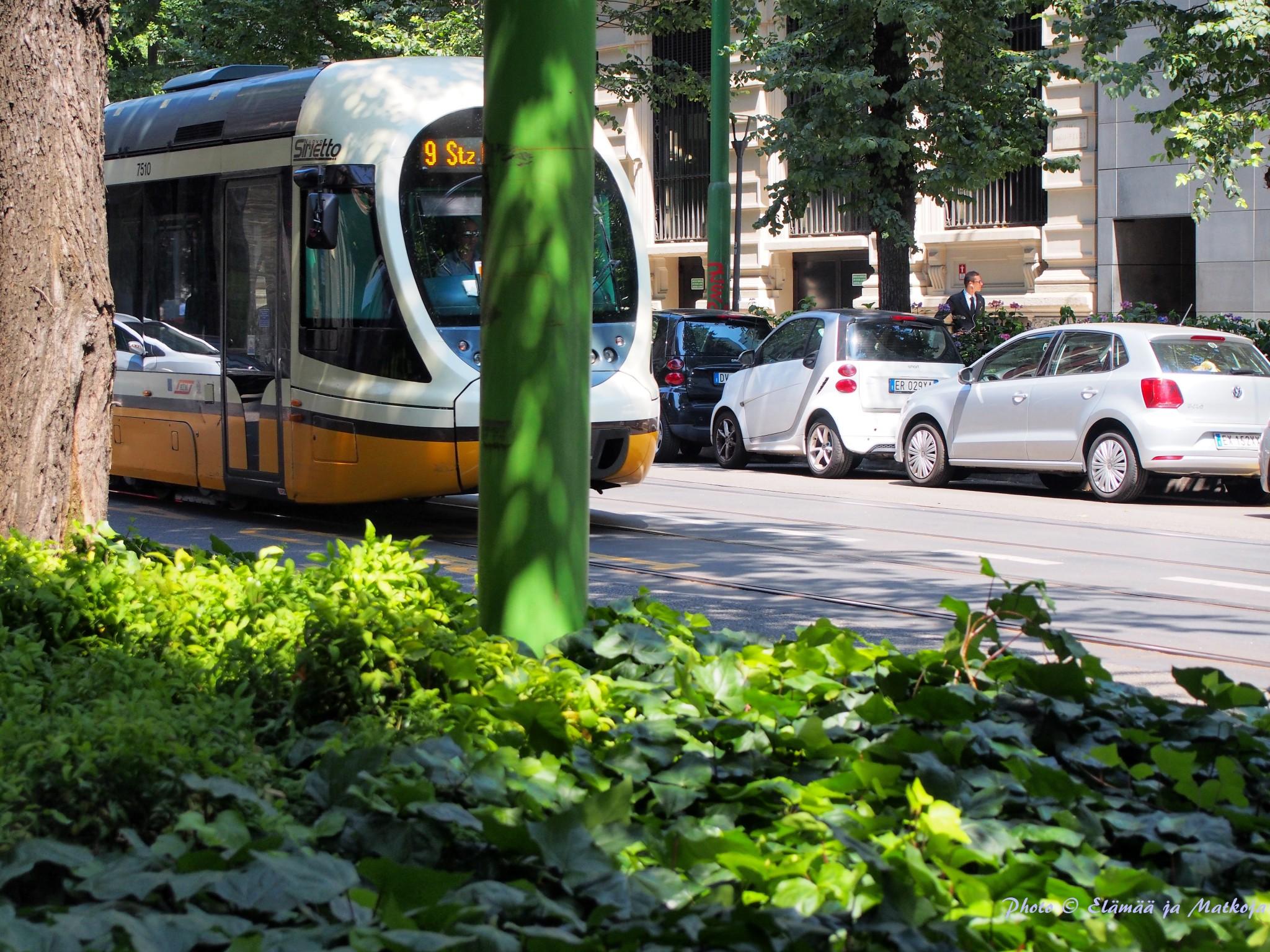 Milano street view Elämää ja Matkoja matkablogi travel blog