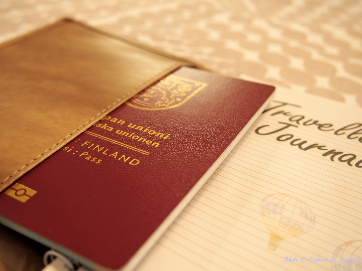 Traveller's journal 3 Photo © Elämää ja Matkoja matkablogi