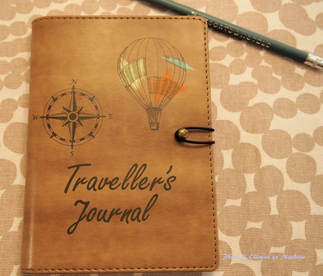 Traveller's journal 6 Photo © Elämää ja Matkoja matkablogi