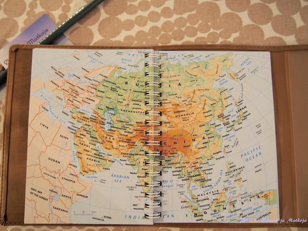 Traveller's journal 7 Photo © Elämää ja Matkoja matkablogi