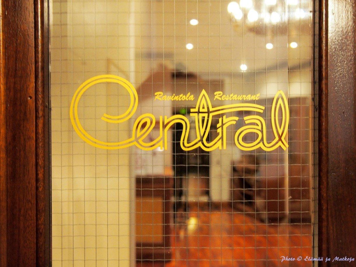 Central ravintola Photo © Elämää ja Matkoja