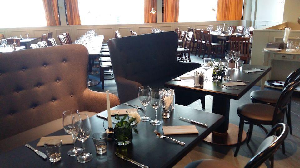 Uusi Bistro Frans & Nicole tajoaa viihtyisän ympäristön niin lounaalle kuin päivälliselle. Kuva Raflaamo