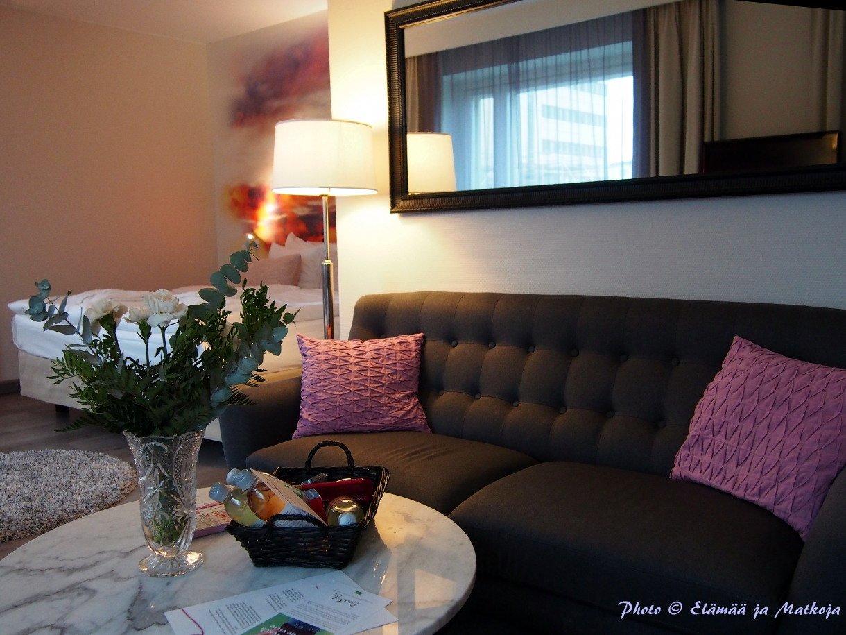 Kurtenia huone Royal Vaasa Photo © Elämää ja Matkoja matkablogi travel blog