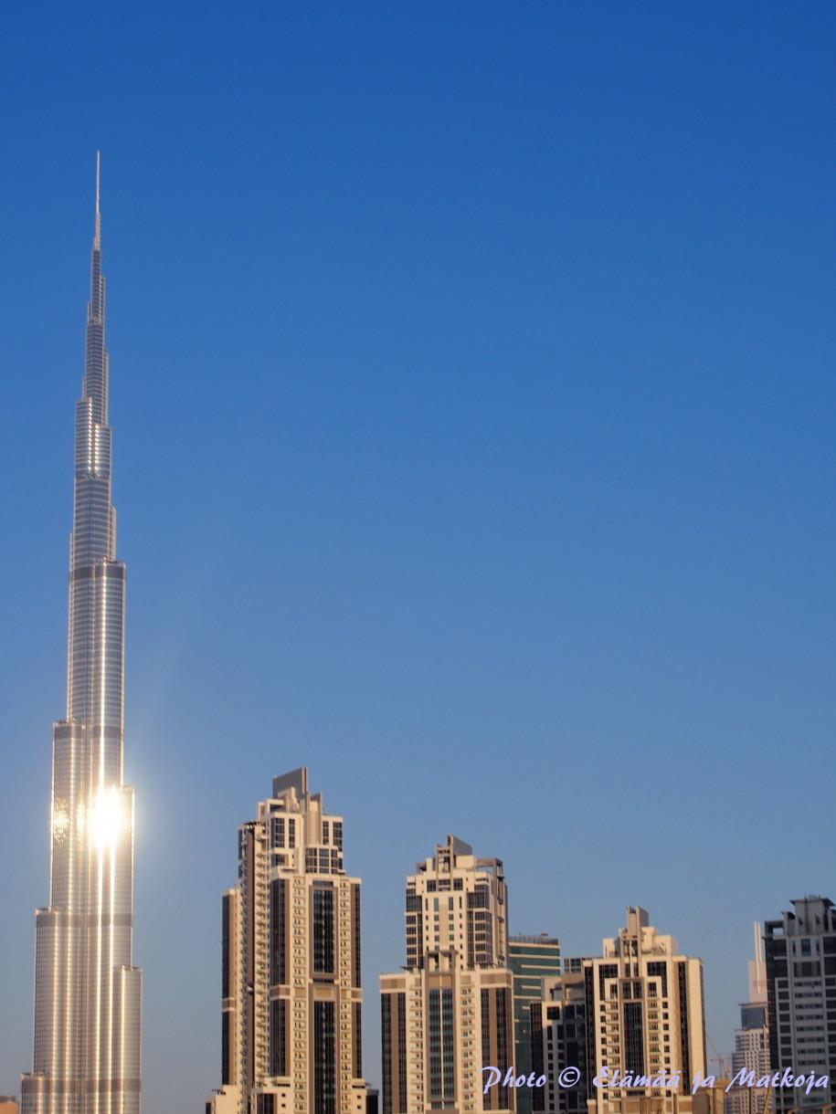 Burj Khalifa Dubai Photo Elämää ja Matkoja