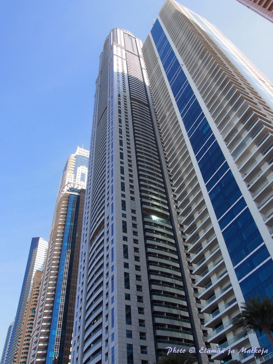 Dubai skyskrapers Photo © Elämää ja Matkoja