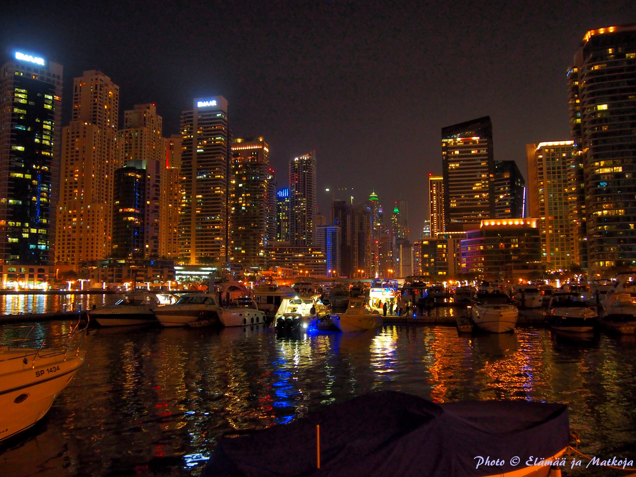 Dubai Marina Photo © Elämää ja Matkoja
