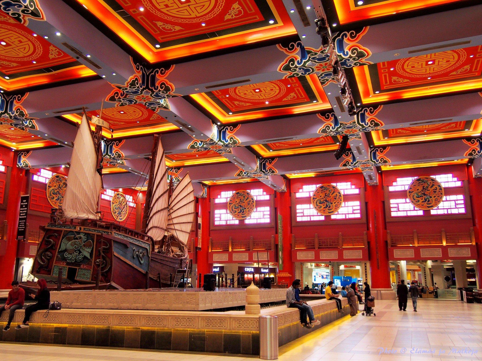 Ibn Battuta Mall Dubai 2 Photo © Elämää ja Matkoja