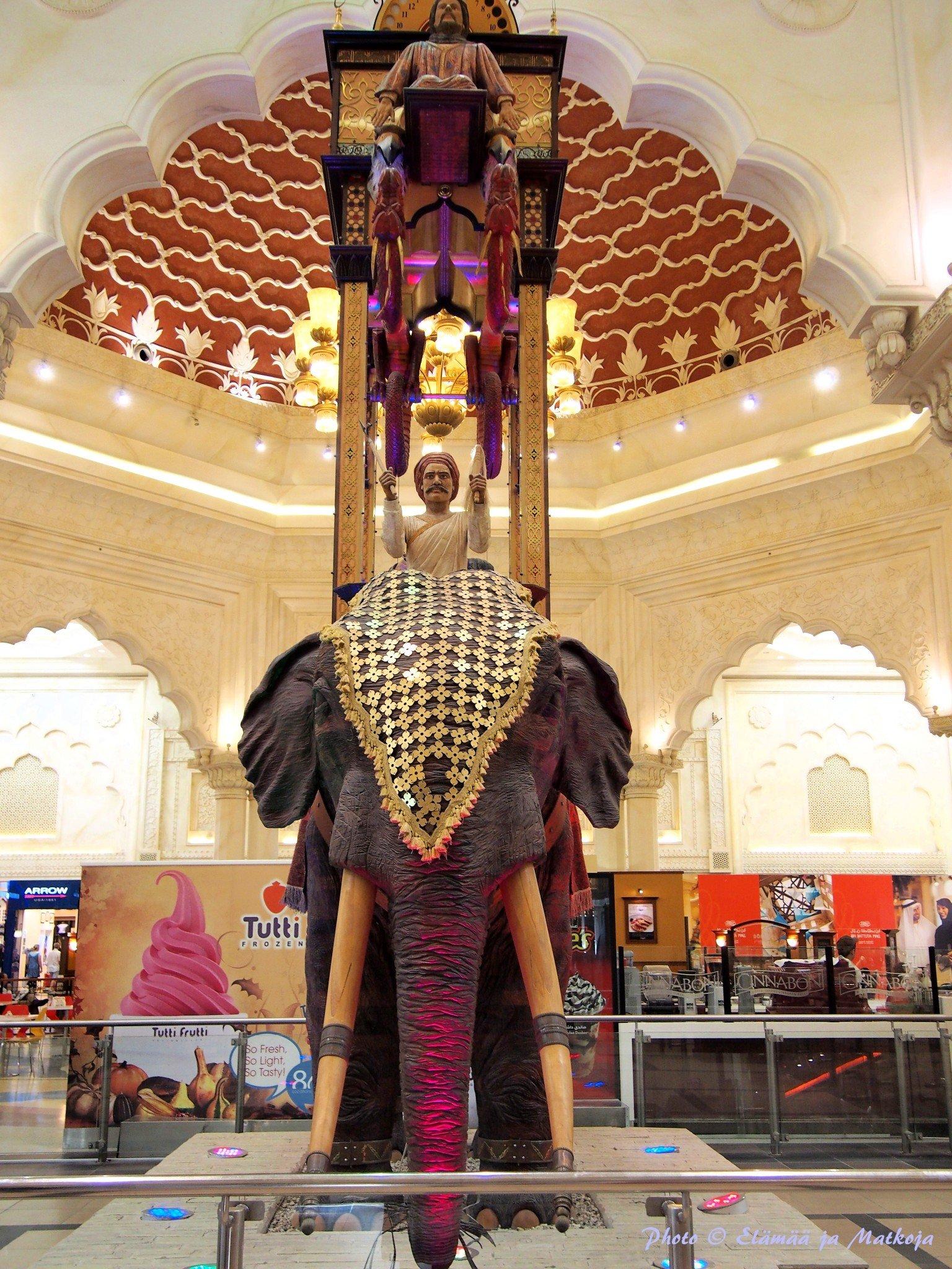 Ibn Battuta Mall Dubai 3 Photo © Elämää ja Matkoja