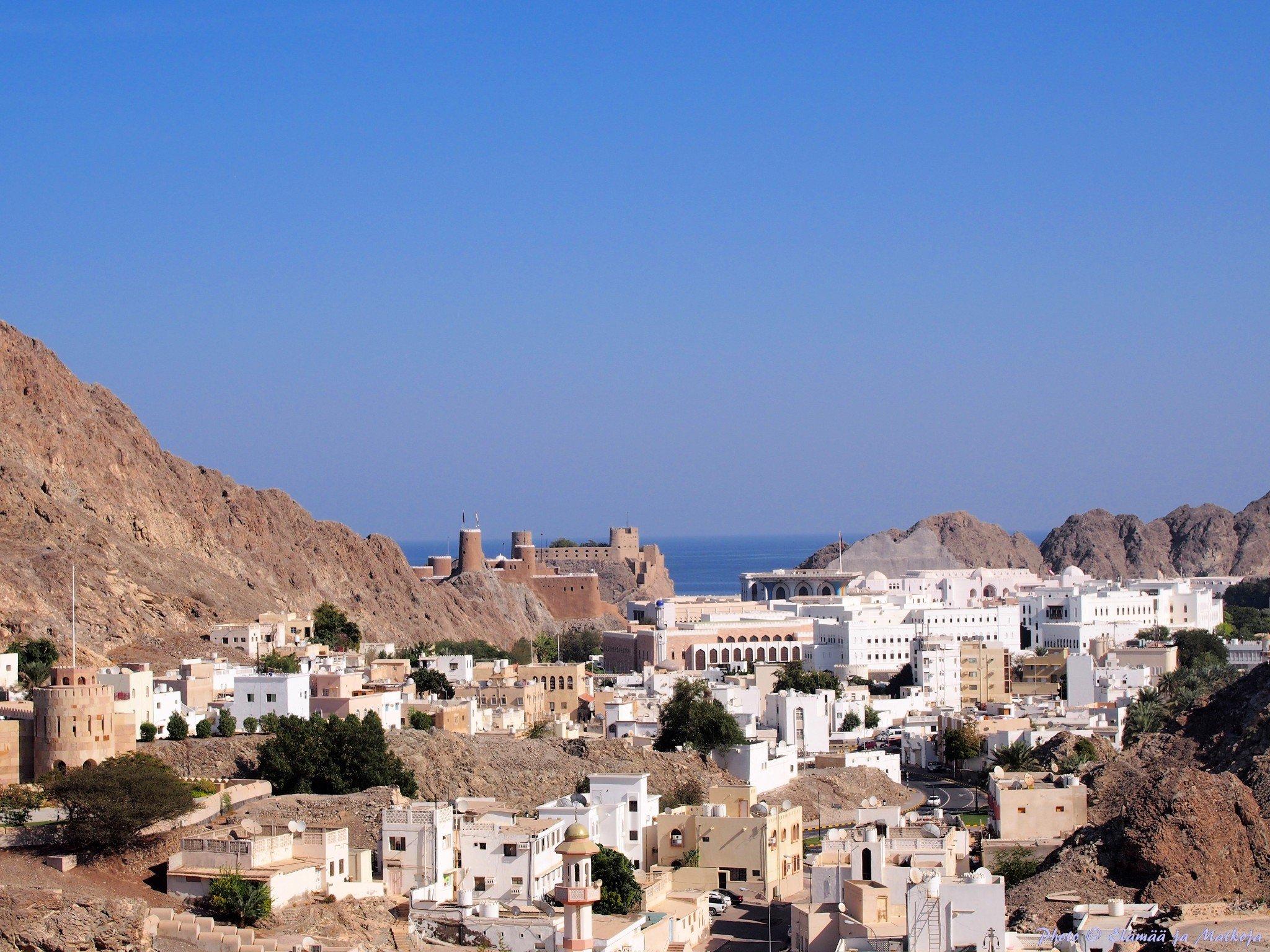 Oman old Masqat Photo © Elämää ja Matkoja