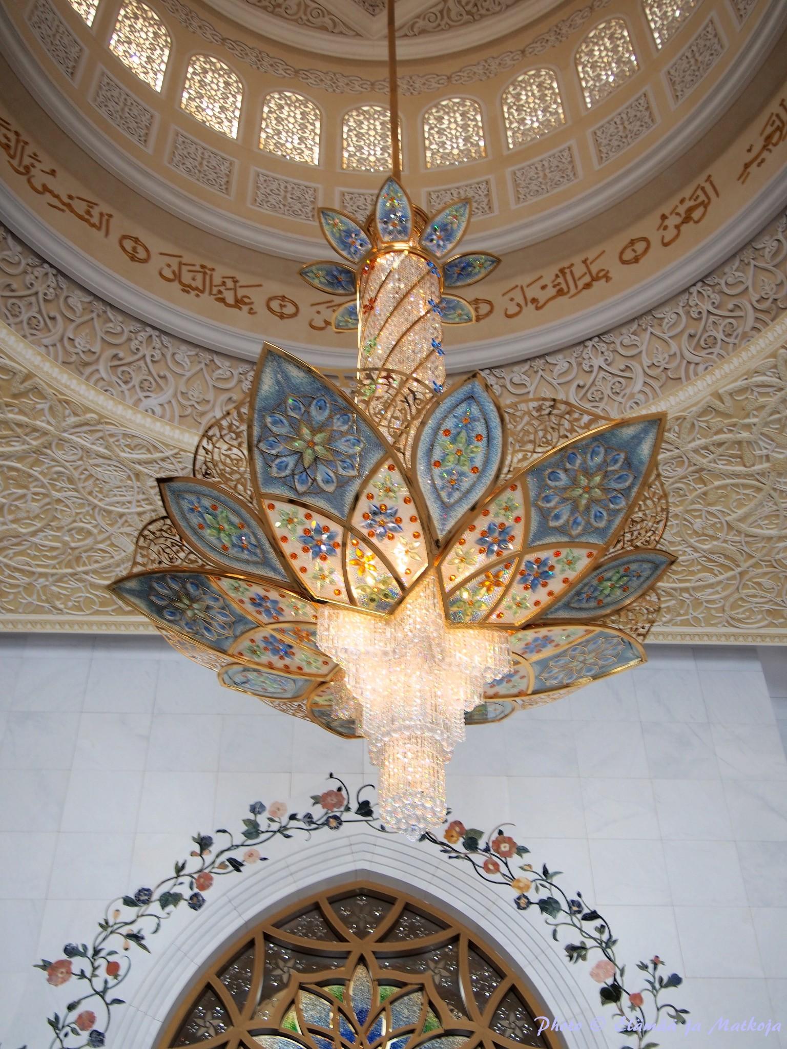 Sheikh Zayed Grand Mosque Abu Dhabi UAE 10 Photo © Elämää ja Matkoja