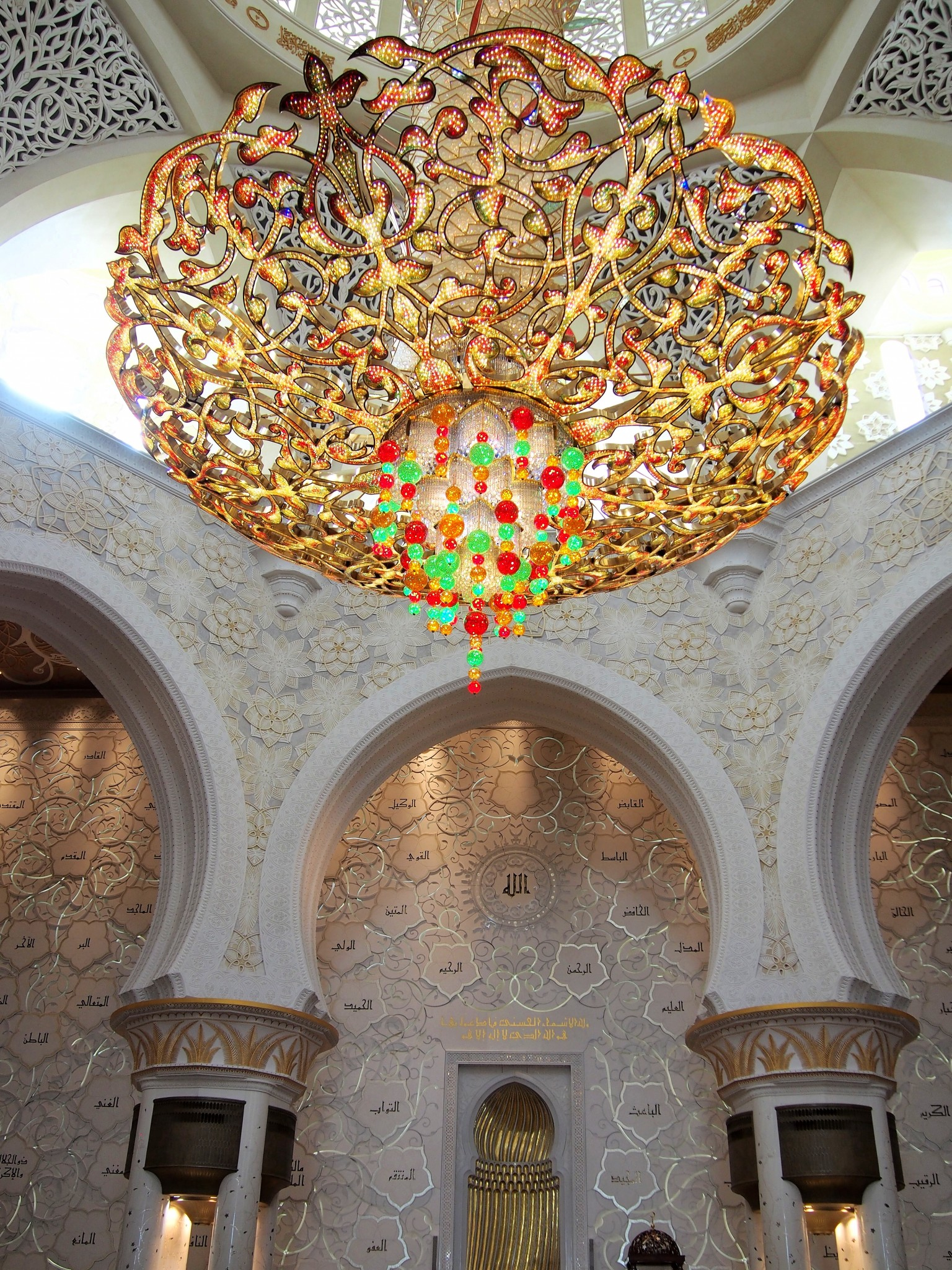 Sheikh Zayed Grand Mosque Abu Dhabi UAE 15 Photo © Elämää ja Matkoja