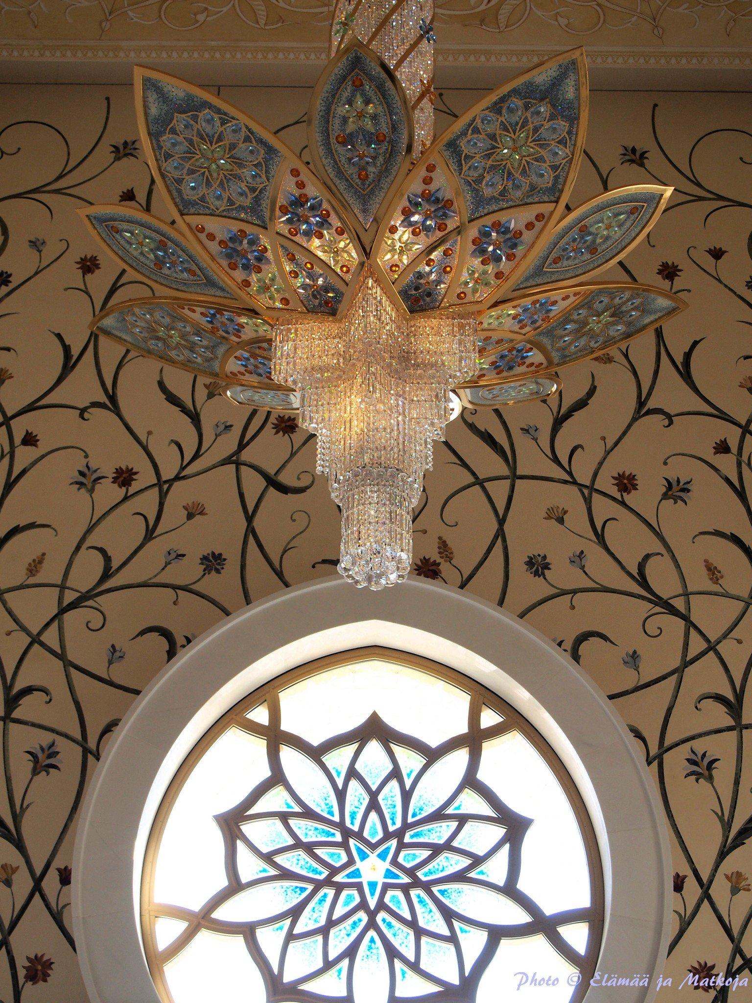 Sheikh Zayed Grand Mosque Abu Dhabi UAE 16 Photo © Elämää ja Matkoja