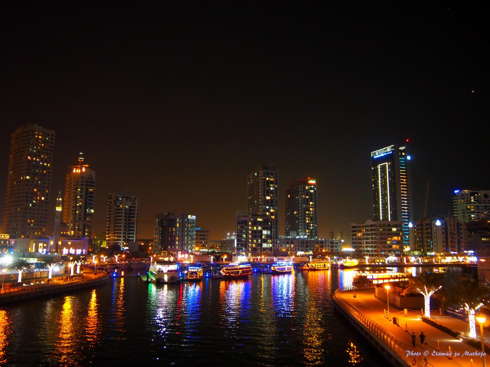 Ennen risteilyä majoituimme Dubai Marinan uudempaan, ns. waterfronf osaan. Photo © Elämää ja Matkoja