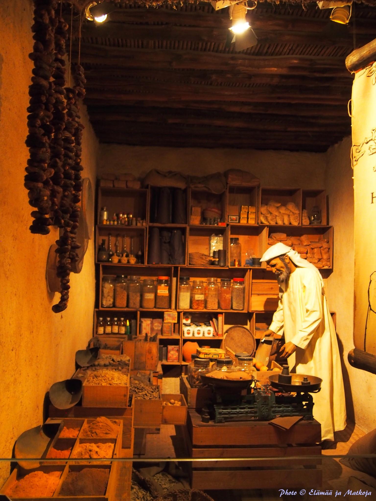 Dubai Museum 17 Photo © Elämää ja Matkoja