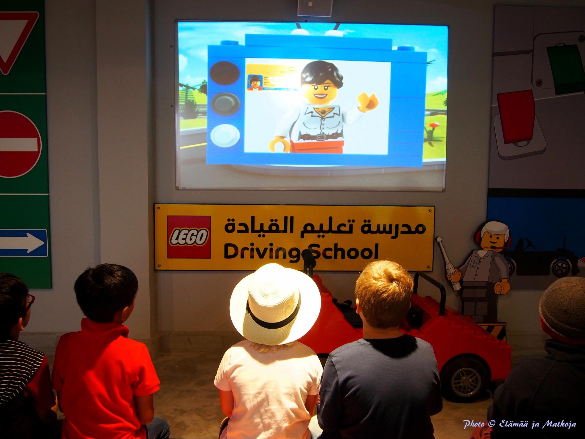 Legoland Dubai Driving School Photo © Elämää ja Matkoja
