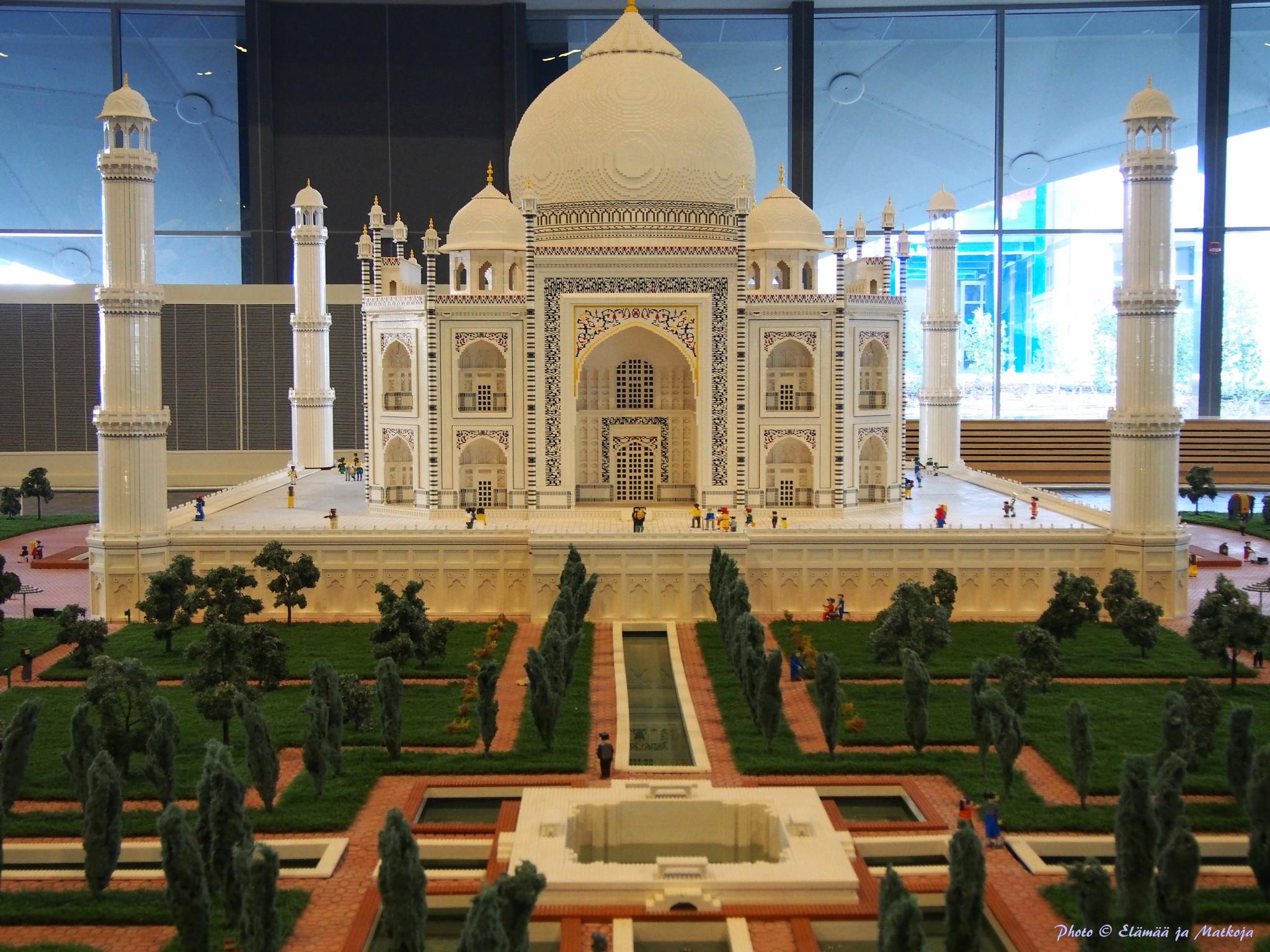 Legoland Dubai Taj Mahal Photo © Elämää ja Matkoja