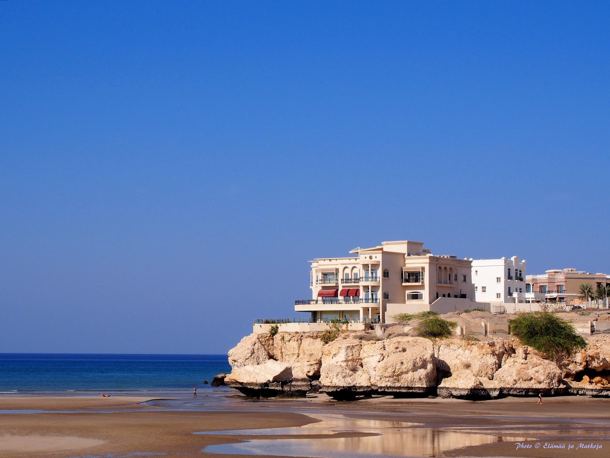 Oman AlQurm Beach Photo Elämää ja Matkoja matkablogi
