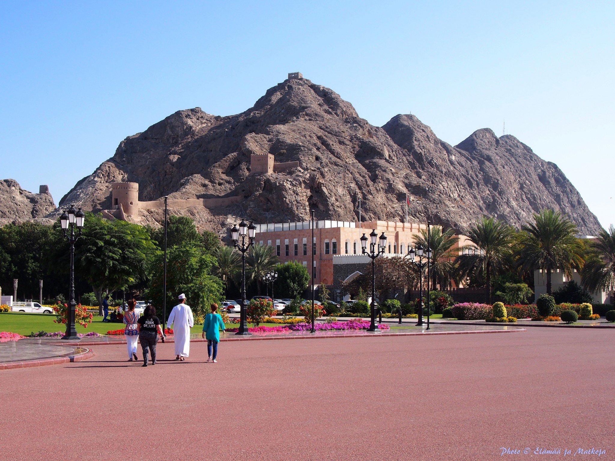Oman Masqat Al Alam 3 Photo © Elämää ja Matkoja