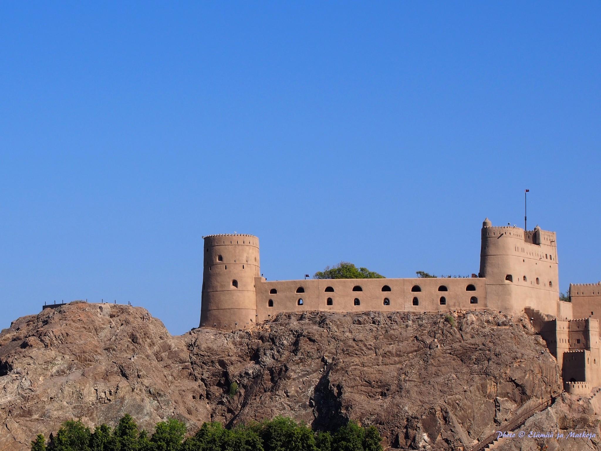 Oman Masqat portugalilainen linnoitus 2 Photo © Elämää ja Matkoja