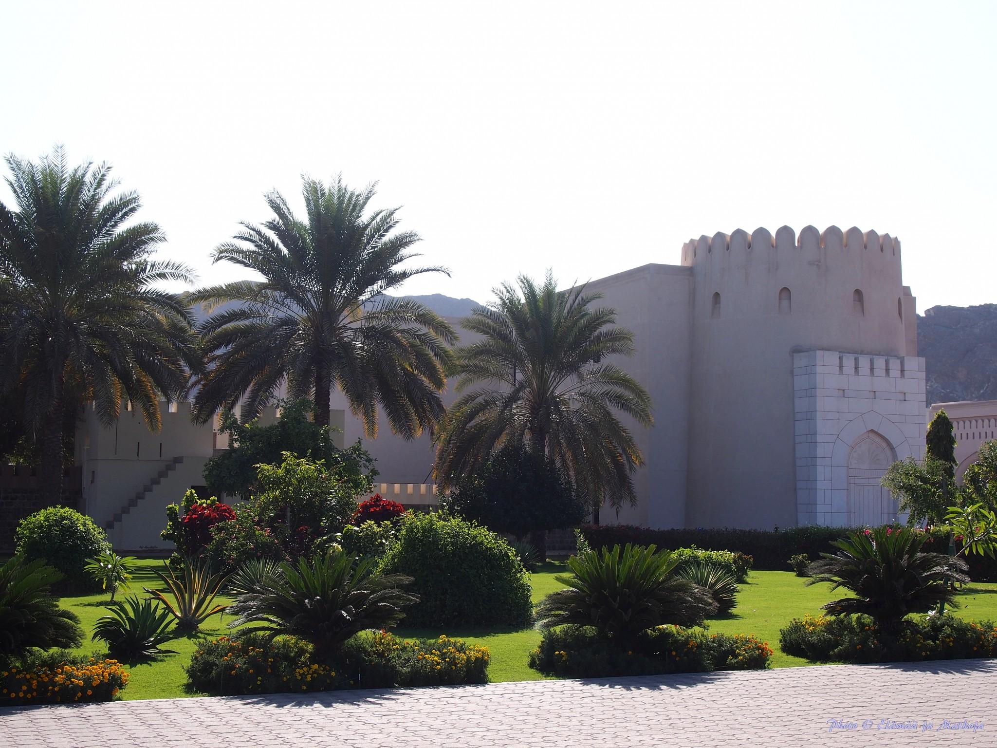 Oman Masqat portugalilainen linnoitus Photo © Elämää ja Matkoja