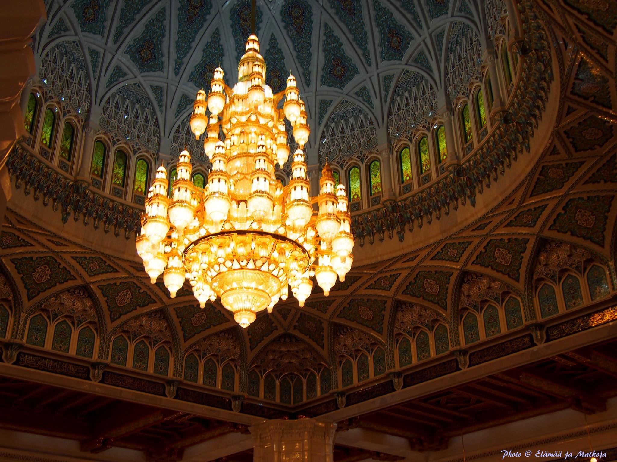 Oman Sultan Qaboos Grand Mosque 3 Photo © Elämää ja Matkoja