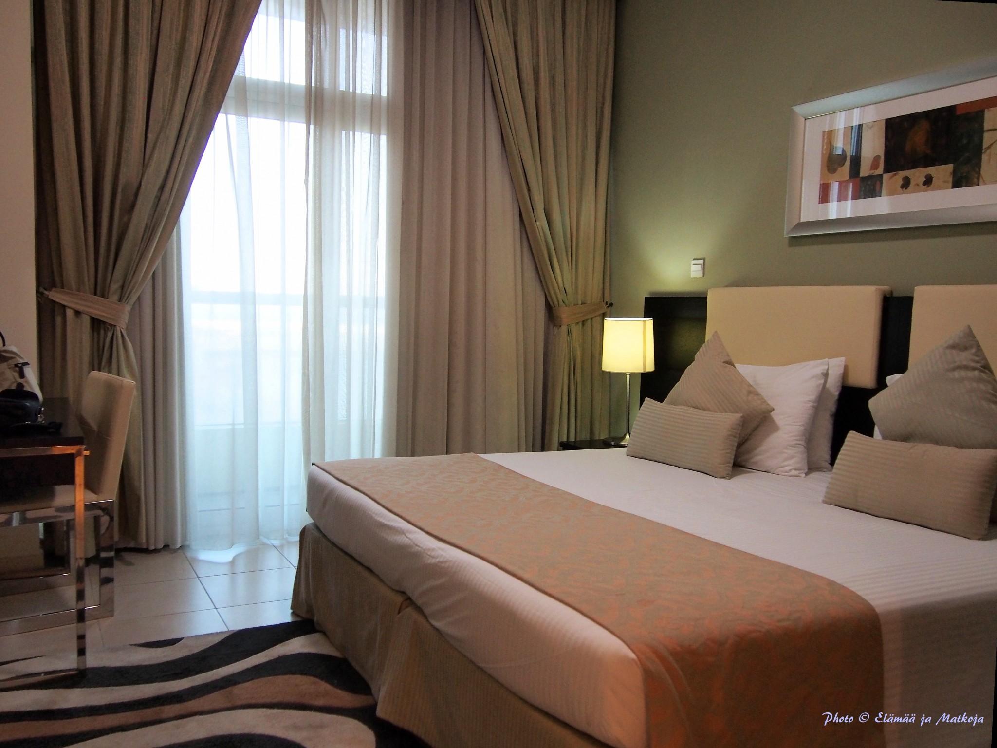 Pearl Marina Dubai Deluxe apt berdoom Photo © Elämää ja Matkoja
