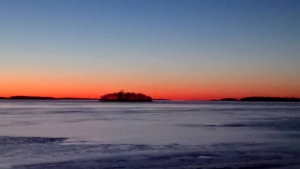 Spring is almost here finland sea sunset nature naturelovers seasidehellip