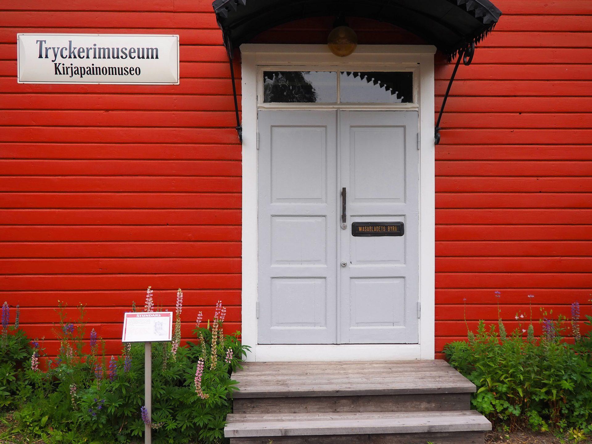 Stundars museo Sulva Tryckerimuseum elamaajamatkoja.fi